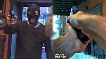 Kiedy kręcisz film o napadzie, ale policja akurat jest obok