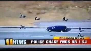 Policjant sprinter