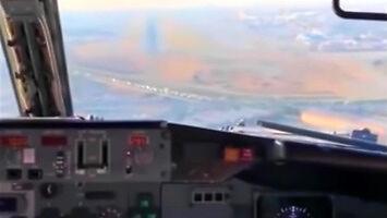 Lądowanie z niespodzianką