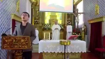 Nieziemski talent objawił się w kościele