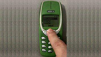Stara Nokia, a gra...
