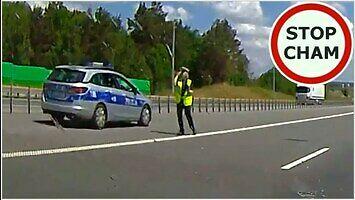 Brak wyobraźni, czyli idealne miejsce na kontrolę prędkości!