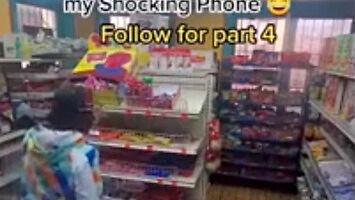 Szokująca kradzież w sklepie
