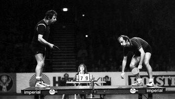 Mecz tenisa stołowego z 1979 roku