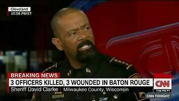 Czarnoskóry szeryf miażdży ruch Black Lives Matter