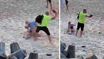 Seks na plaży w Mielnie