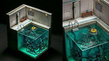 DIY: Diorama z potworem