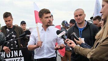 Michał Kołodziejczak miażdży dziennikarkę TVP
