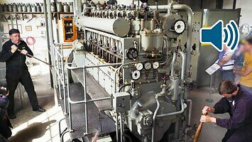 Start silnika z U-Boota