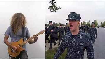 U.S. Navy idzie w metal