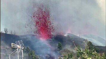 Zobacz wybuch wulkanu na hiszpańskiej wyspie La Palma (Wyspy Kanaryjskie)
