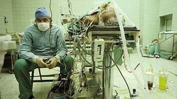 Odtworzone w 3D słynne zdjęcie prof. Religi po udanej operacji przeszczepu serca