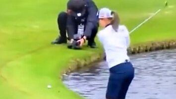 W profesjonalnym golfie takie strzały nie zdarzająsięczęsto
