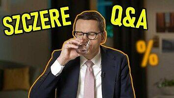 Szczere Q&A premiera Mateusza Morawieckiego