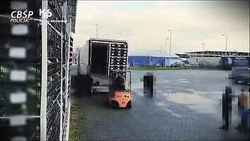 W ciężarówce przewożącej kalafiory z Hiszpanii była skrytka