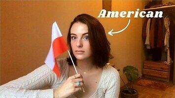 Amerykanka Emma uczy się polskiego