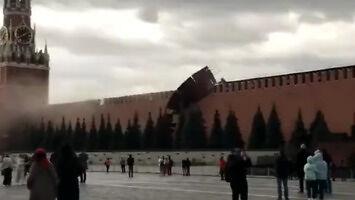 Kreml zaatakowany przez... wiatr