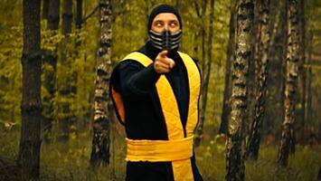 Scorpion z Mortal Kombat bierze udział w #hot16challenge2