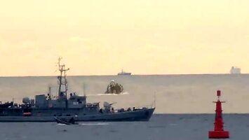 Wybuch tonowej miny morskiej w Zatoce Gdańskiej