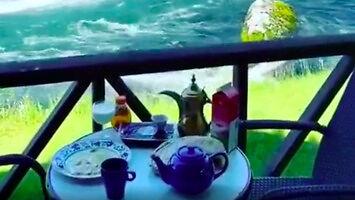 Kiedy zarezerwowałeś stolik z ładnym widokiem