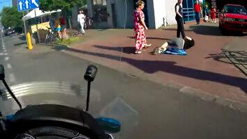 Potrącony chłopiec i szybki dojazd motoambulansu