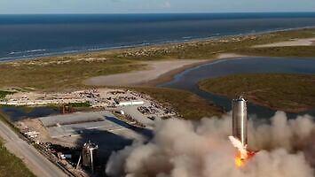SpaceX wykonała próbny lot prototypu Starship SN5