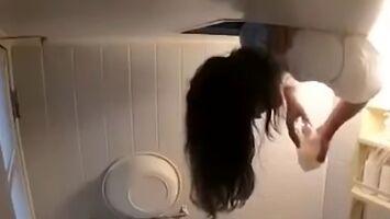 Prysznic z dziewczyną w japońskim wydaniu
