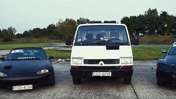 "Renault ""Tofik"" Trafic - auta Kickstera"