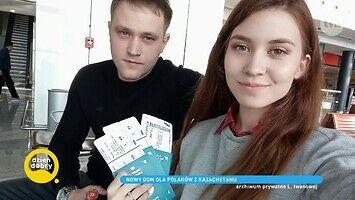 Lubow jest repatriantką z Kazachstanu. Razem z rodziną wraca do Polski - kraju jej pradziadka