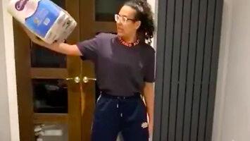Kiedy nakupiłaś papieru toaletowego i chcesz zachować formę
