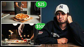Jak można obrobić video reklamy pizzy za 25, a jak za 500 dolarów?
