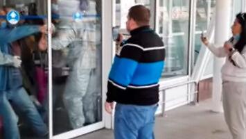 Izolacja pasażerów na ukraińskim lotnisku