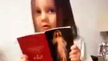 Mała dziewczynka prosi Pana Boga, żeby wygonił koronawirusa