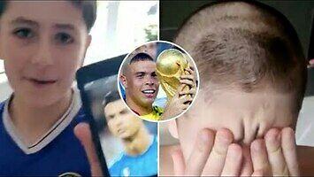 Syn poprosił o fryzurę jak Ronaldo
