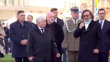 Dyktator Kaczyński dyscyplinuje poddanego