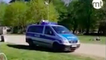 Co mówi niemiecka policja do piknikujących w parku?