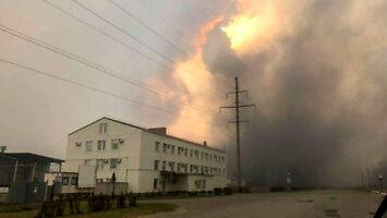Ogień jest już przy Czarnobylskiej Elektrowni Jądrowej