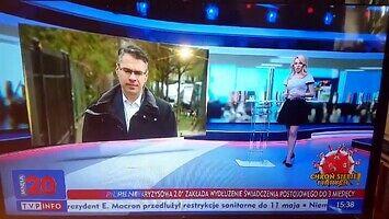 TVP twierdzi, że do Polski przyleciało 100 milionów ton sprzętu medycznego
