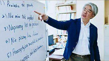 Poznajcie pana Kojiego, nauczyciela polskiego w Japonii