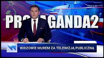 Propaganda obrońców TVP - czarno-biały, orwellowski świat