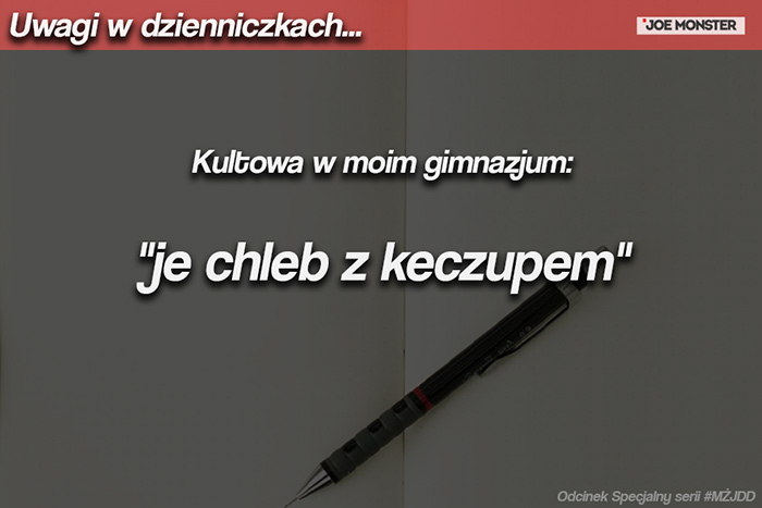 Kultowa w moim gimnazjum: