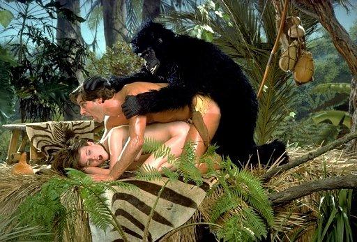 seks z kreskówkami Tarzananal porno wielki kutas