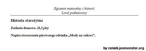 Matura 2009 pytania