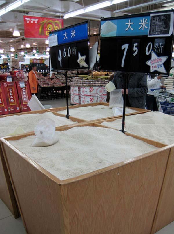 2.) Bulk rice