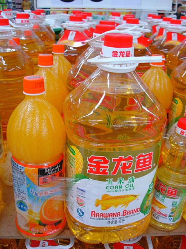 4.) Orange juice and cooking oil combos