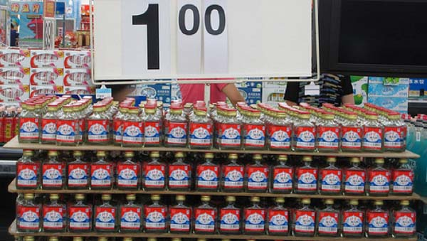 6.) Bulk, Wal-Mart brand liquor