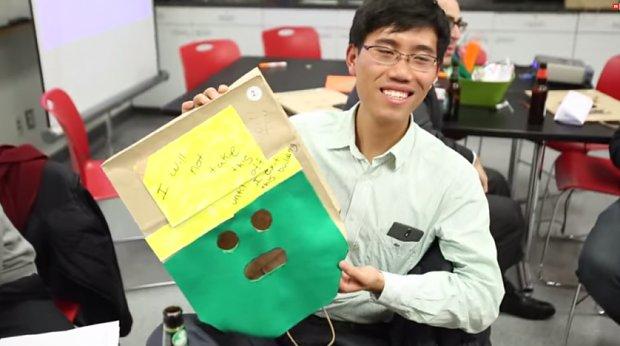 Papierowa torba randkowa loveflutter
