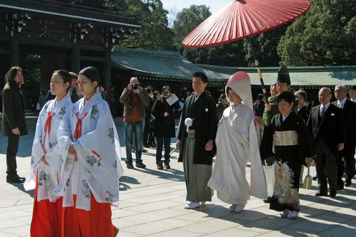 Wedding Guest Bizarre Services from Japan
