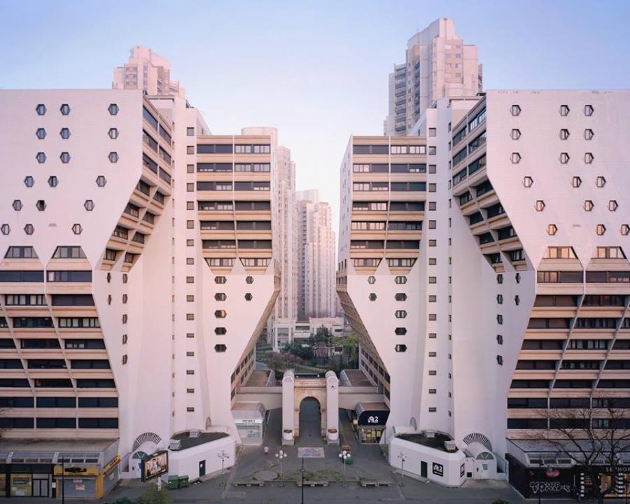 Niezwyk a architektura nieco zapomnianych paryskich for Modern and postmodern design of building