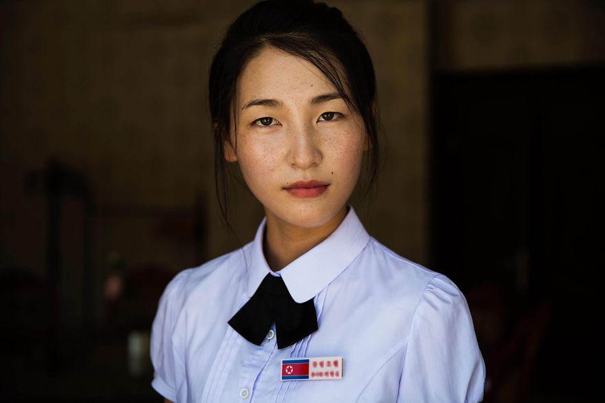 Spotyka się z dziewczyną z Korei Północnej